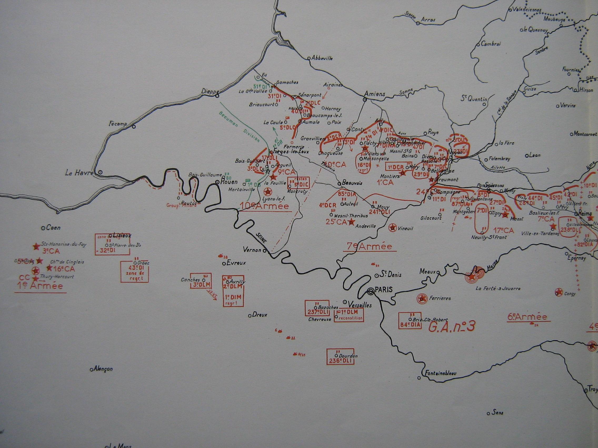Vnements De 1940 Dans Le Dpartement De L39Aisne